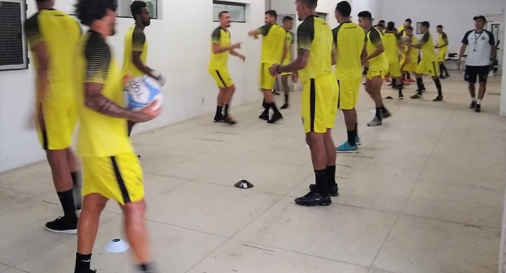 Trabalho | ASA treina em academia nesta terça para fortalecimento físico dos atletas